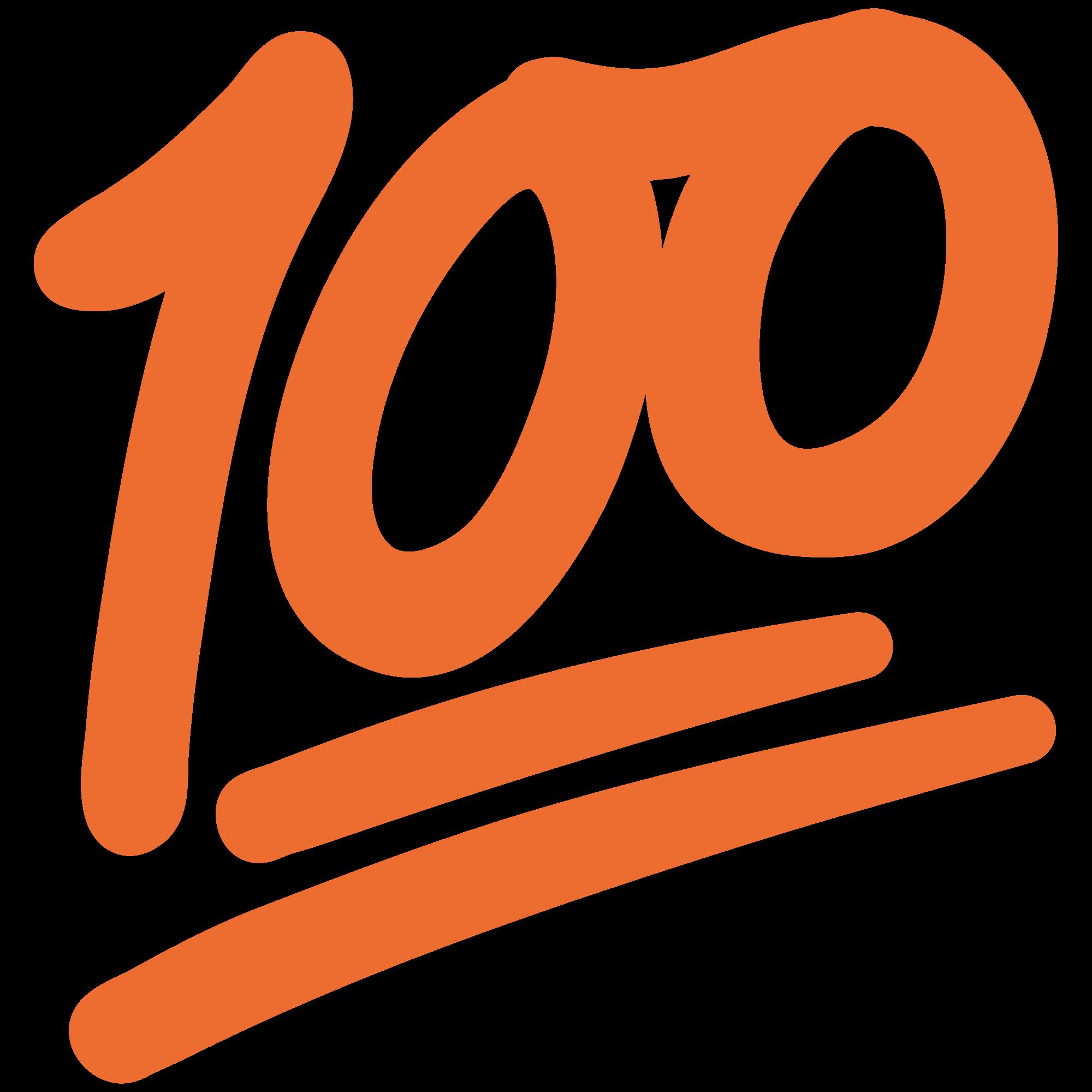 100-orange-emoji